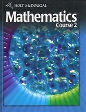 Holt McDougal Mathematics Course 2: Student Edition, Kennedy, Paul A., Hall, Ear