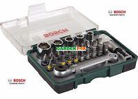 savers - Bosch RATCHET Screwdriving SET 27 Piece 2607017160 3165140659208 D