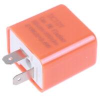 2-Pin Motorcycle Speed Adjustable LED Turn Signal Indicator Flasher Relay 12V 3C