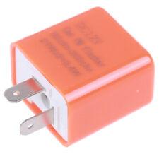 2-Pin Motorcycle Speed Adjustable LED Turn Signal Indicator Flasher Relay 12V SE