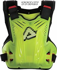 Acerbis Impact Motocross Enduro Chest Protector Body Armour Flo Yellow