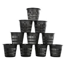 "10*Mesh Pot Net Cup Basket Hydroponic Aeroponic Plant Grow Clone High Quality 3"""