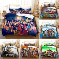 Dragon Ball Z Bedding Set 3PCS Duvet Cover Pillowcase USA Twin Full Queen King