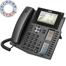 Fanvil X6 6 Line Gigabit Colour PoE VoIP SIP IP Telephone Inc Warranty Free P&P