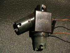 More details for vintage safeways dual double twin bulb holder with switch socket adapter rare