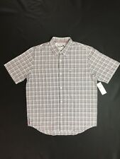 Quiksilver Mercury Short Sleeve Button Down Shirt Size Medium