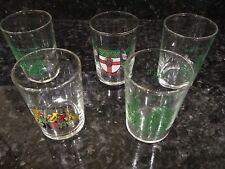 5 X 5cl European Festival Wine / Shot Glasses