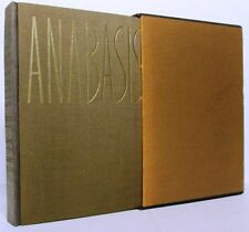 The Anabasis of Xenophon (Limited Editions Club): Illustrations by A. Tassos