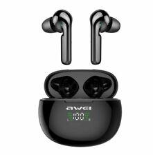 Awei T15P TWS In-Ear Wireless Earbuds - Black