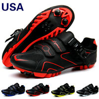 Men Mountain Cycling Shoes MTB Outdoor Bike Shoes Triathlon Racing Bicycle Shoes