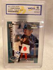 2001 Upper Deck I-17 Ichiro Suzuki Rookie Gem-Mt 10