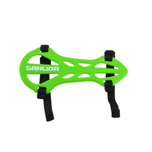 Archery Arm Guard Protector Gear Forearm Straps Soft Rubber Bow Shooting Target