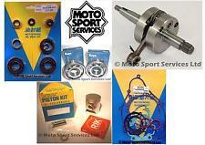 KX 65 2000-2005 Mitaka Engine Rebuild Kit Crank Piston C Mains Gasket Seal