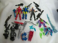 HASBRO MARVEL AVENGERS FIGURES WEAPONS PARTS ACCESSORIES LOT