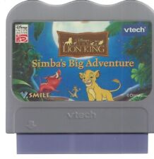Lion King Simba'S Big Adventure Vtech Vsmile Cartridge Only-0089 *