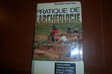 PRATIQUE DE L'ARCHEOLOGIE  BERNADETTE D'ANVAL-FAURE