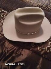 Stetson silver belly hat 6 X Xxxxx size 7 1/8