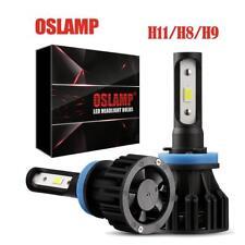 OSLAMP Cree LED Headlight Kit H8 H9 H11 Conversion Light Bulbs 1400W 6000K White
