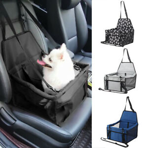 Large Car Seat Carrier Cat Dog Pet Puppy Travel Cage Booster Belt Bag  UK