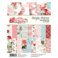 Simple Stories Simple Vintage My Valentine 6 x 8 Paper Pad 11822