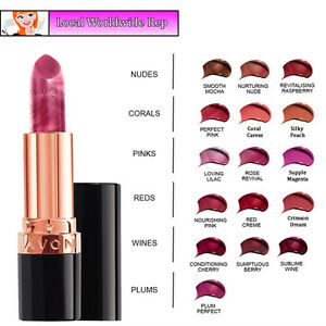 Avon True Colour Supreme Nourishing Lipstick // Various Shades (RRP £8)
