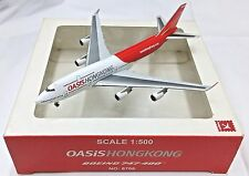 Herpa / Hogan Wings 1:500 8706 OASiS HONG KONG Airlines B747-400 B-LFA - Model