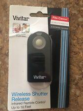 Vivitar Wireless Shutter Release Remote Control for Canon