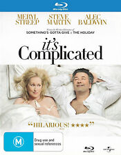 It's Complicated (Blu-ray 2010) Alec Baldwin, Steve Martin, Meryl Streep - REG B