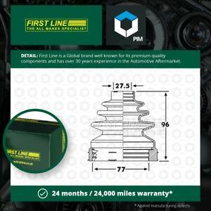 CV Joint Boot Kit fits VAUXHALL VIVARO X83 2.0D Front Inner 06 to 14 C.V. New