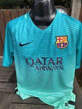 Barcelona 2016 Away Football Shirt Size Large Nike Spain Barca Retro Brand New