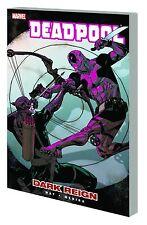 DEADPOOL VOL #2 TPB DARK REIGN Daniel Way Marvel Comics Hawkeye #6-7 & #10-12 TP