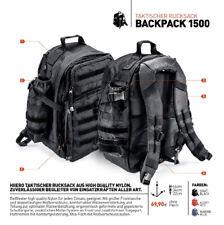HIIERO® Einsatzrucksack Rucksack mit vielen Funktionen inkl. POLIZEI-PATCH