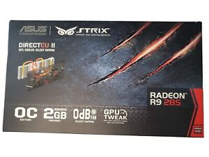 ASUS Radeon Strix - R9 285 OC AMD Graphics Card - 2GB - DirectCU II