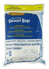 18 Hoover Windtunnel Allergy Vacuum Type S Bags,