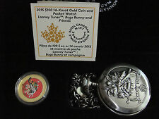 2015 Canada $100 Dollars 14 K Gold Coin Bugs Bunny & Friends Looney Tunes