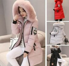 Womens Winter Hooded Parka Jacket Outerwear Ladies Winter Chunky Puffer Coat