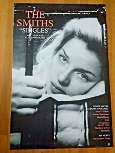 """24"""" x 36"""" The Smiths (Morrissey) - Singles 1995 poster"""