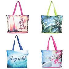 XXL große Tasche Shopper Strandtasche Sommertasche Damen Bag Einkaufstasche