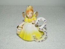 Josef Originals Birthday Girls Through The Years Angel Age 3 Porcelain Figurine