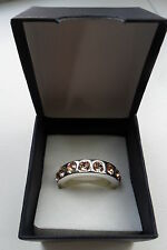 Pink Ring Jewelled Circle Of Jewells Band New & Boxed Lord Of The Rings Party