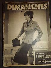 LES DIMANCHES DE LA FEMME N° 201 21 janvier 1940