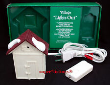 Dept. 56 Village Lights Out Remote Control Infrared Receiver White 52132 NIB