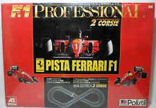 POLISTIL VTG LIMITED HUGE PISTA FERRARI F1 ELECTRIC 1/32 SLOT CARS RACING TRACKS