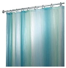 "Interdesign 72"" x 72"", Ombre Blue & Green, Print Fabric Shower Curtain"