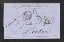 "Venezuela: 1862; Pto Cabello-Bordeaux mark ""Treaty Franco-British""1F 60c.VE245*"