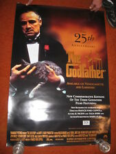 The GODFATHER 25th Anniversary original MOVIE POSTER > ROLLED 1997