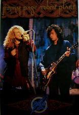 Jimmy Page Robert Plant 1995 No Quarter Poster