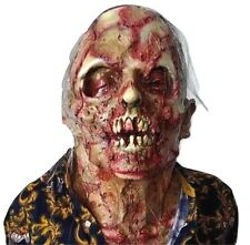Disgusting Bloodie Zombie Mask Latex Scary Horror Halloween Costume Party Props
