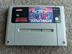 SUPER DOUBLE DRAGON Super Nintendo Original Cart Only SNES PAL UK