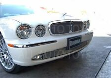 Jaguar XJ8 XJR Bolt on Lower Bumper Mesh Grille 2004-07 chrome or black  X350